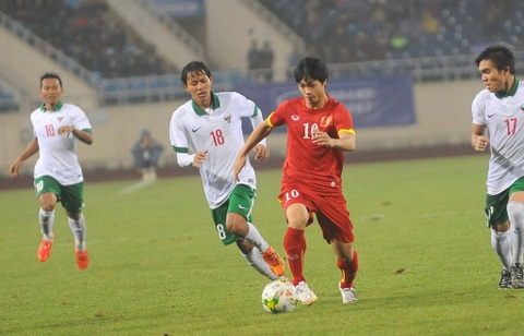 Video tran giao huu Olympic Viet Nam - Olympic Indonesia hinh anh