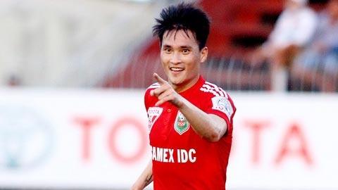 Cong Vinh ghi ban thang nhanh nhat lich su V.League hinh anh