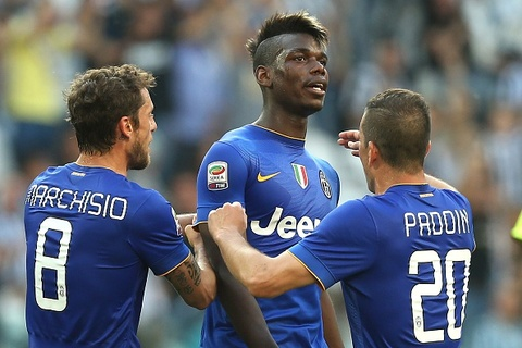 Pogba lap cong, Juventus van bi cam hoa hinh anh