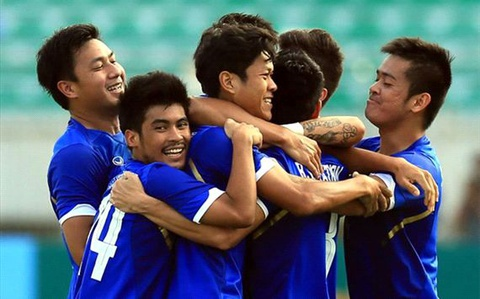 Video bong da SEA Games 28: U23 Lao - U23 Thai Lan hinh anh