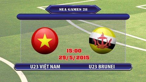 Video bong da truc tiep U23 Viet Nam - U23 Brunei hinh anh