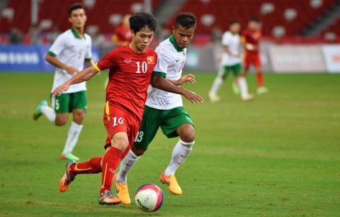 Video tong hop tran dau: U23 Viet Nam 5-0 U23 Indonesia hinh anh