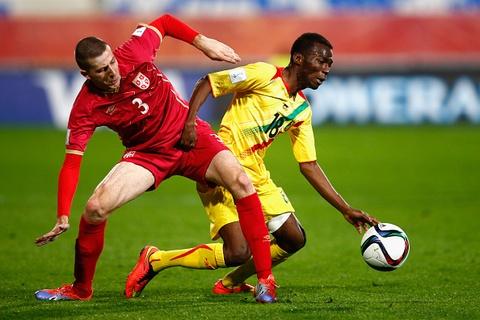 Tong hop tran dau: U20 Serbia 2-1 U20 Mali hinh anh