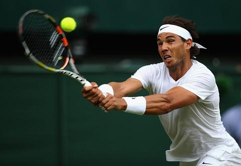 Rafael Nadal thua soc Dustin Brown o vong hai Wimbledon hinh anh