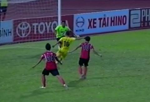 Tong hop ban thang: Dong Tam Long An 2-1 Thanh Hoa hinh anh