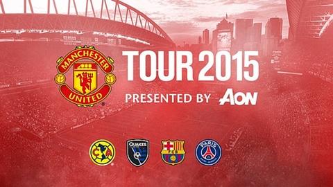 Video tran dau: Manchester United - San Jose hinh anh