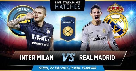 Video tran dau: Inter Milan - Real Madrid hinh anh