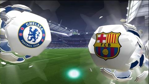 Video tran dau: Chelsea - Barcelona hinh anh