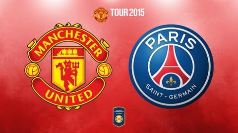 Video tran dau: Manchester United - Paris Saint Germain hinh anh