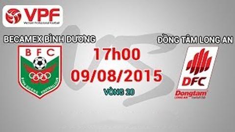 Video truc tiep: B.Binh Duong - Dong Tam Long An hinh anh