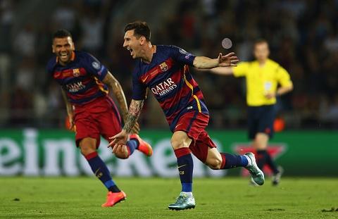 Tong hop tran dau: Barcelona 5-4 Sevilla hinh anh