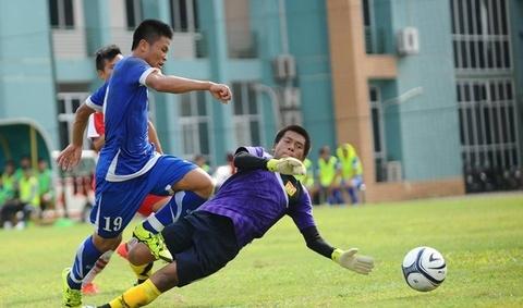 Nhung pha bong dang chu y tran U19 Viet Nam 6-0 U19 Lao hinh anh