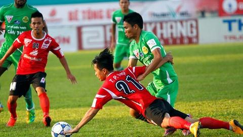 Tong hop ban thang: Dong Tam Long An 1-2 Can Tho hinh anh
