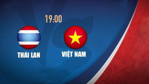 Video truc tiep bong da U19 Viet Nam - U19 Thai Lan hinh anh