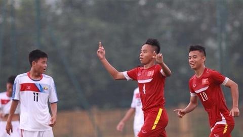 Nhung pha bong dang chu y tran U16 Viet Nam 5-1 U16 Myanmar hinh anh