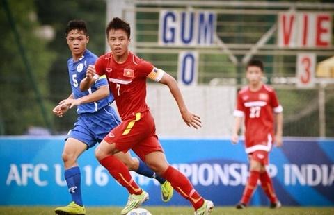 Tong hop tran dau: U16 Viet Nam 18-0 U16 Guam hinh anh