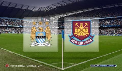 Truc tiep bong da: Manchester City Vs West Ham hinh anh