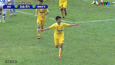 Tong hop ban thang: U21 An Giang 1-2 U21 Ha Noi T&T hinh anh