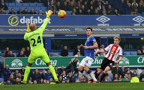Tong hop ban thang:  Everton 6-2 Sunderland hinh anh