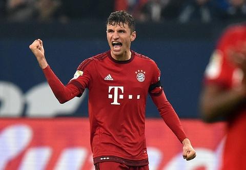 Tong hop ban thang: Schalke 04 1-3 Bayern Munich hinh anh