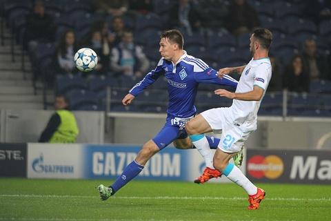 Tong hop ban thang: Porto 0-2 Dynamo Kyiv hinh anh