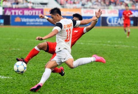 Tong hop tran dau: U21 Viet Nam 1-1 U21 Singapore (pen: 5-6) hinh anh