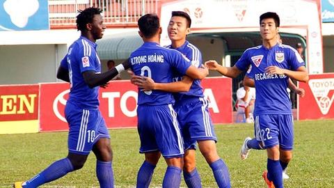 Tong hop ban thang: Long An 1-1 Binh Duong hinh anh