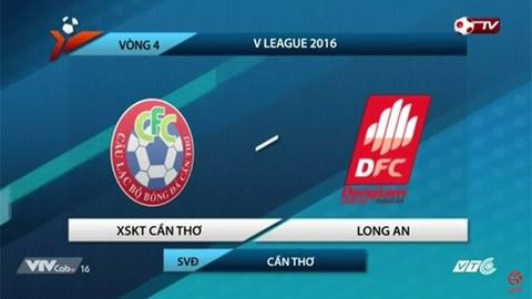 Tong hop ban thang: Can Tho 2-1 Long An hinh anh