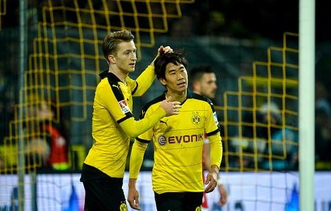 Hai pha lap cong cua Marco Reus va Kagawa vao luoi Mainz 05 hinh anh