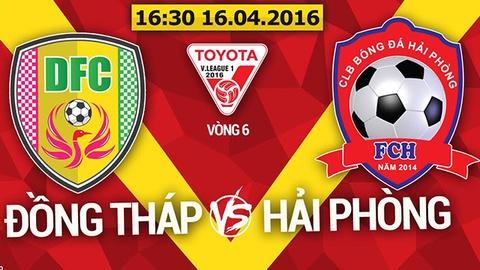 Video Dong Thap 0-1 Hai Phong hinh anh