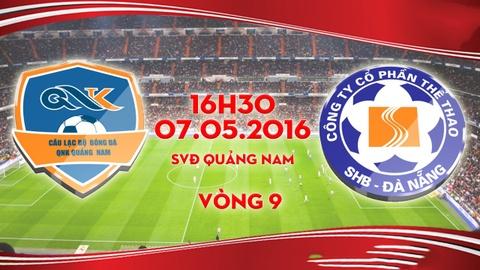 Video tong hop tran dau QNK Quang Nam vs SHB Da Nang hinh anh