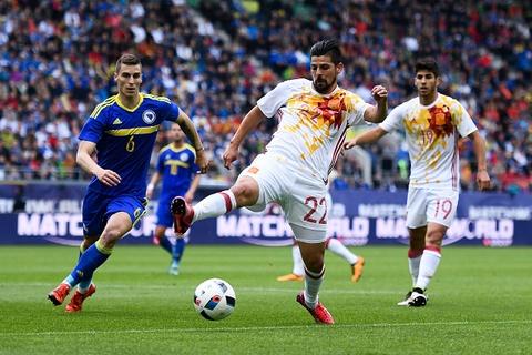 Highlights Tay Ban Nha 3-1 Bosnia-Herzegovina hinh anh