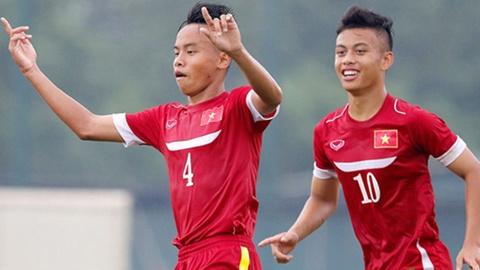 Highlights U16 Viet Nam 5-1 U16 Myanmar hinh anh