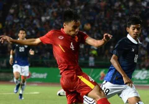 Highlights U16 Campuchia 0-1 U16 Viet Nam hinh anh
