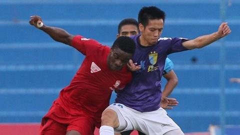 Highlights Hai Phong 2-1 Ha Noi T&T hinh anh