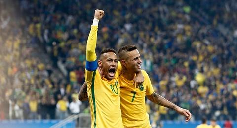 Highlights U23 Brazil 2-0 U23 Colombia hinh anh