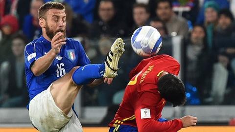 Highlights Italy 1-1 Tay Ban Nha hinh anh