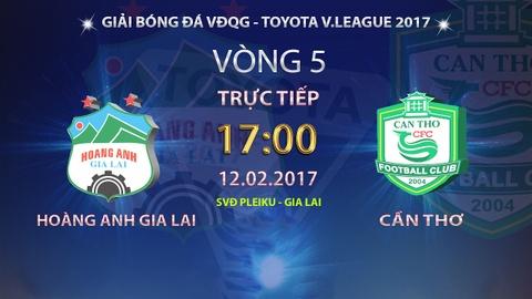 Video tran dau V.League: HAGL vs CLB Can Tho hinh anh