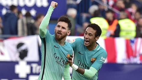 Video Messi toa sang giup Barca danh bai Atletico hinh anh