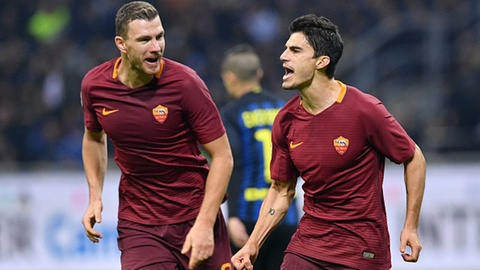 Highlights Inter 1-3 AS Roma hinh anh