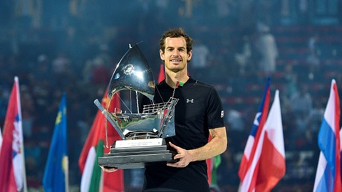 Murray vo dich Dubai mo rong, Nadal that bai o chung ket Mexico Open hinh anh
