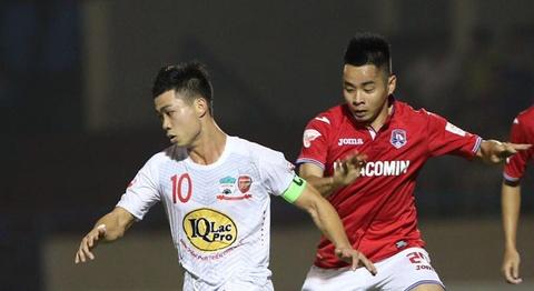 Highlights CLB Quang Ninh 2-2 CLB HAGL hinh anh