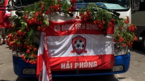 Hang nghin CDV Hai Phong dieu hanh len Ha Noi tiep lua doi nha hinh anh