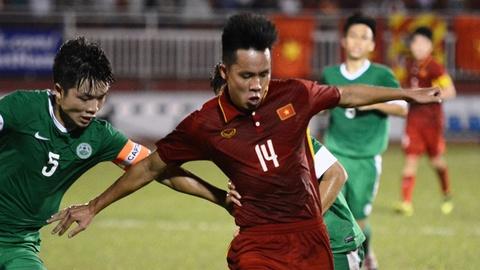 Highlights U22 Viet Nam 8-1 U22 Macau hinh anh