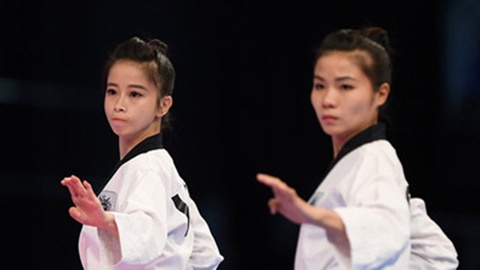 Chau Tuyet Van cung dong doi gianh HCV taekwondo hinh anh