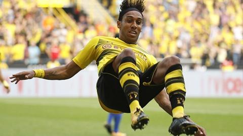 Aubameyang lap cong giup Dortmund tro lai ngoi dau hinh anh