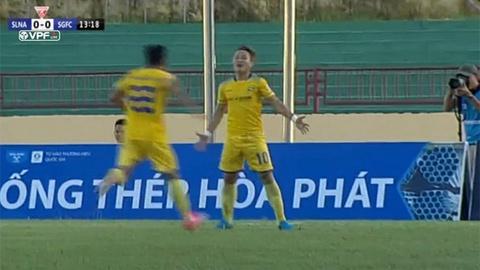 Song Lam Nghe An danh bai Sai Gon FC 2-0 hinh anh