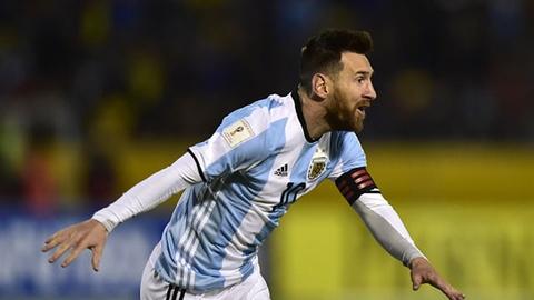 Highlights Messi toa sang giup Argentina gianh quyen du World Cup hinh anh