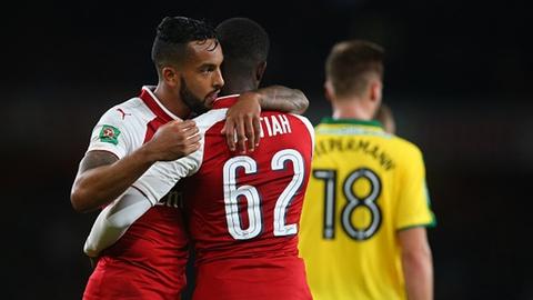 Highlights Arsenal 2-1 Norwich hinh anh