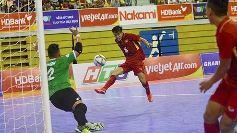 Highlights futsal Viet Nam 18-0 Brunei hinh anh